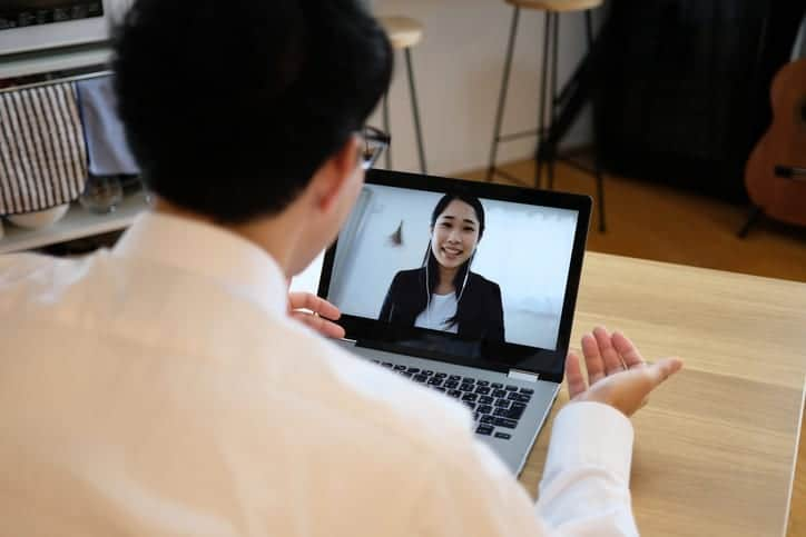 job interview over video call