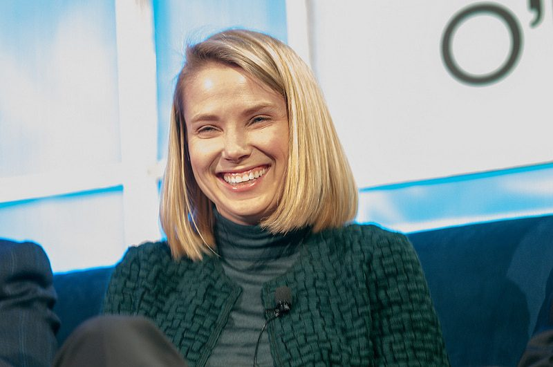 Marissa Mayer, CEO of Yahoo! and former Google exec, at a recent tech conference in San Francisco. - Photo by JD Lasica