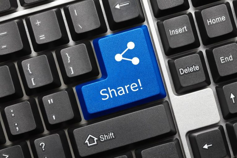 make your content shareable